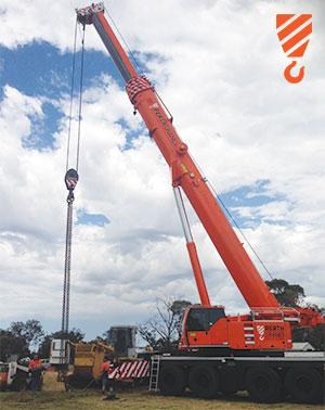 80 Tonne Load - Crane Hire Perth