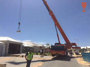 100 Tonne Crane Hire Perth