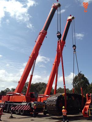 30 Tonne Load - Crane Hire Perth