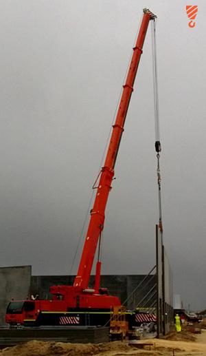 Tilt-up Panels Crane Hire Perth